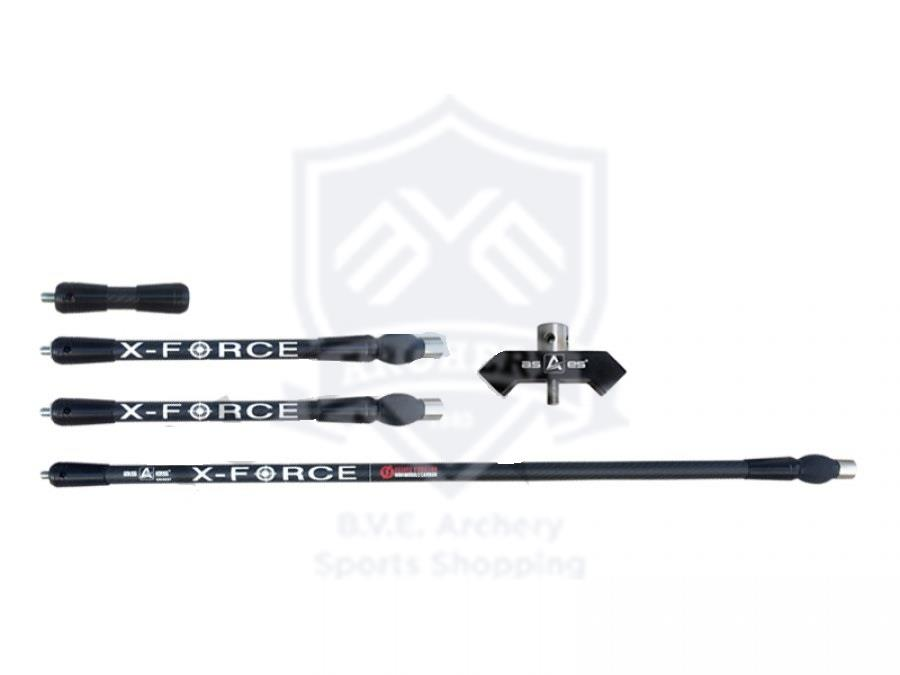 AS-ES STABILIZER CARBON X-FORCE 3K SET